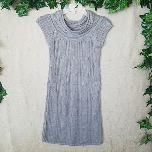 CHESLEY CABLE KNIT SWEATER DRESS